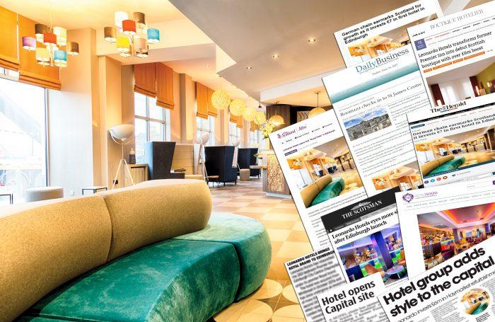 Leonardo First Hotel Media Montage for Edinburgh PR