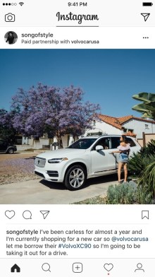 Instagram Paid for hosted by Scottish PR Agency
