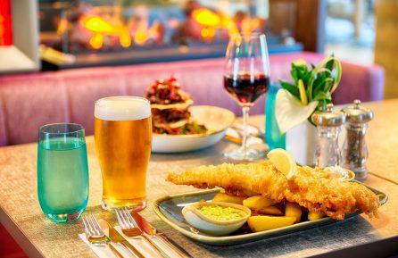 PR photography of food in the Leonardo Hotel, Edinburgh