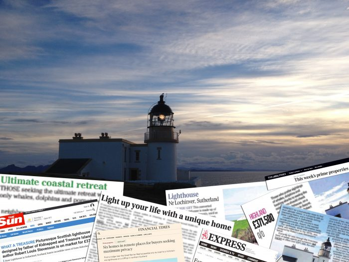 Stoer Lighthouse Media Montage for Property PR