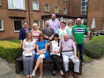 Volunteers pose for Scottish PR Agency Story