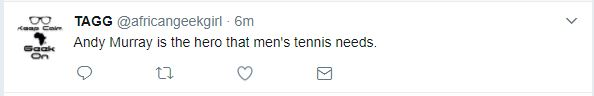 Tweet praises Andy Murray's shutdown of casual sexism