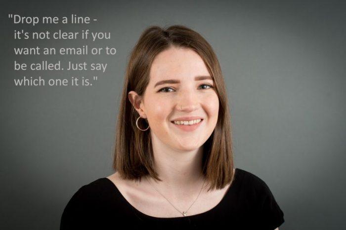 Edinburgh PR consultants look at corporate jargon Cat Timoney
