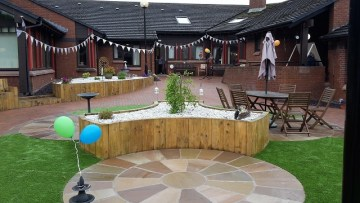 Garden Bunting from Scottish PR Agency