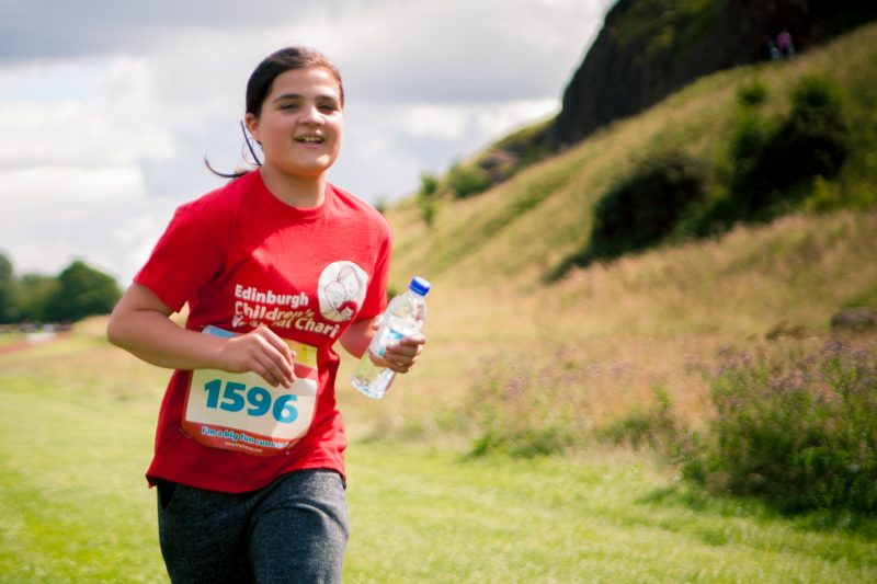 11-year-old Hope Gilmour from Alloa, was told from birth there was less than 5% chance she would walk, but on Sunday 30th July 2017, she completed her first 5km run to raise money for the Edinburgh Children's Hospital Charity