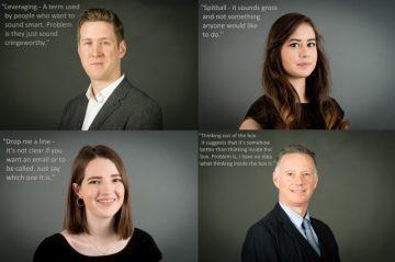 Edinburgh PR consultants look at corporate jargon
