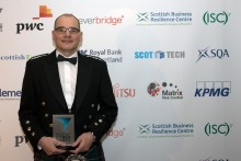 Scott Hunter Cyber Security Teacher of the year - Tech PR