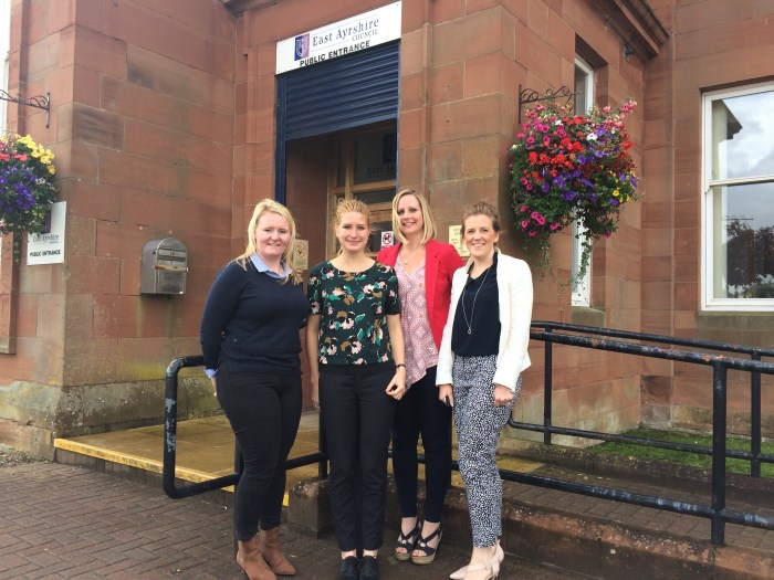 Jeannie Kielty, Maya Hernes , Lorna Hull and Rachael MacLeod from Banks to be used by Renewables PR Agency