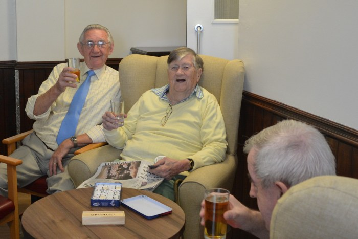 Scotland PR agency shares story of the pub at Bupa's Balnacarron Care Home