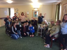 Residents and Staff from Hill View and Mountblow Bar to be shared by Edinburgh PR agency