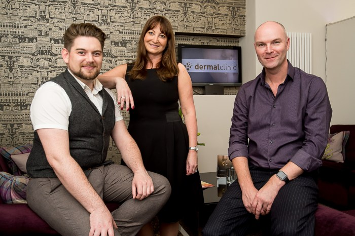 Jackie Partridge, Jarrod Partridge and Daniel Foxcroft pose for Award Winning Public Relations Agency Story