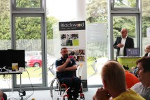 Scottish PR company share Wheelchair Rugby League captain's inspirational speech