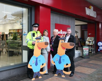 New #copdog initiative launched in Motherwell told by Scottish public relations company