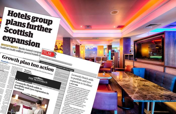 Hotel PR experts share story of Leonardo's expansion plans