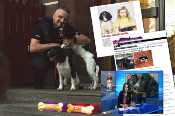 Edinburgh PR team gain coverage for new police dog names