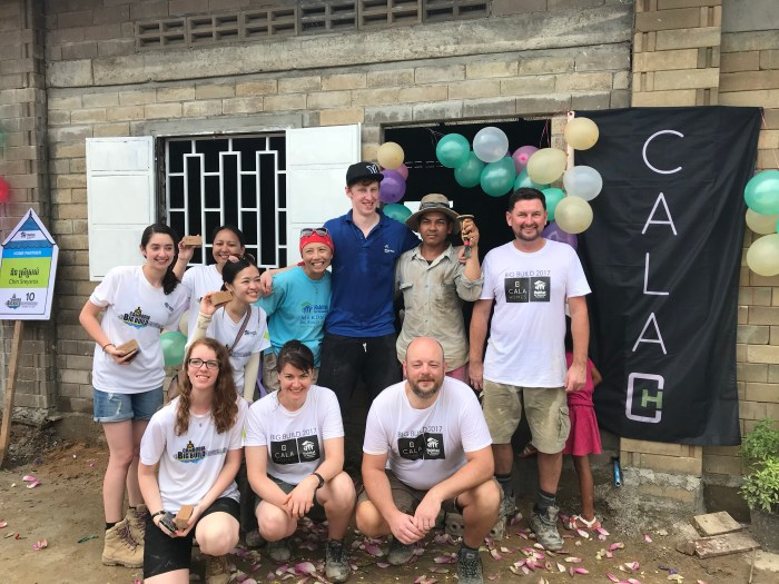 Edinburgh PR agency shares news of CALA employees in Cambodia