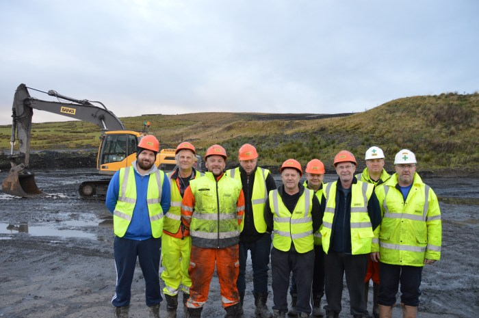 Team restoring Spireslack surface spoke to our Scottish PR experts about the project.