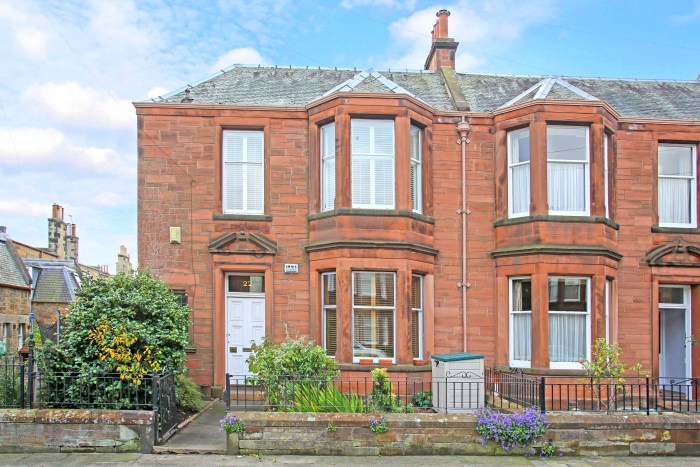 This stunning property could be the perfect family home says PR experts Edinburgh