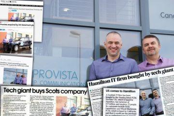 Provista PCM tech PR coverage montage