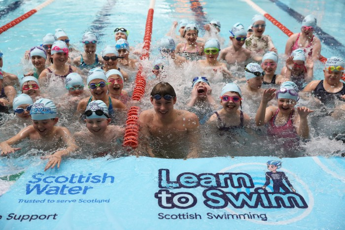 Scottish PR Agency Holyrood PR help client Scottish Water to promote their three-year partnership with Scottish Swimming and the Learn to Swim campaign.