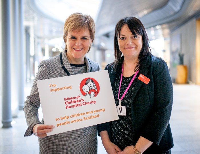 Nicola Sturgeon and Roslyn Neely to be used by Scottish PR