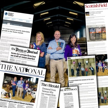 Mackie's of Scotland see growth in Asian market thanks to Food and Drink PR