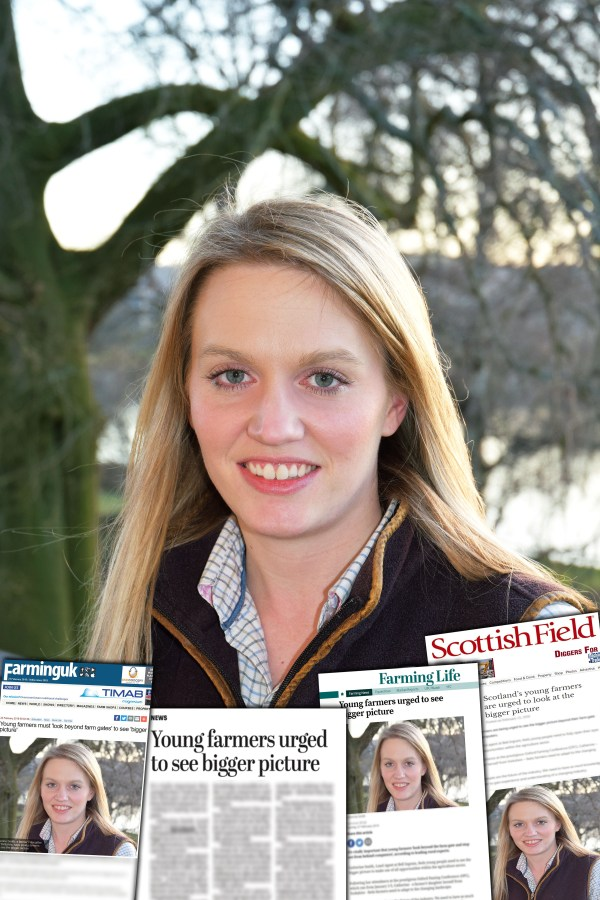 Bell Ingram comments on young farmers Scottish PR success