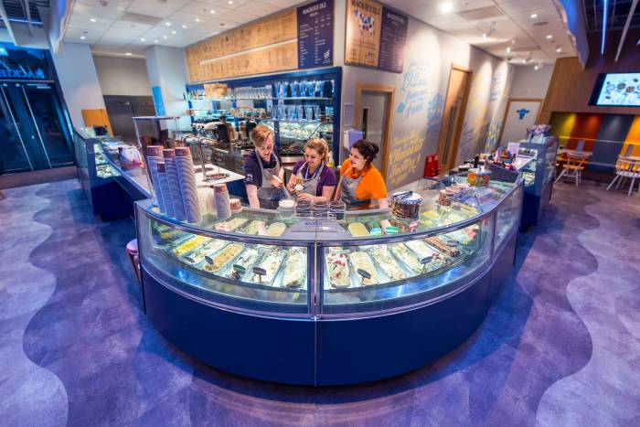 Mackie's 19.2 Parlour appears in a Food and Drink PR photo