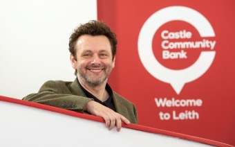 PR Photography of actor Michael Sheen for our Scottish PR agency