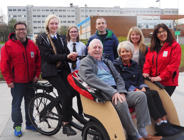 Scottish PR agency promotes Bield's Cycling Without Age story