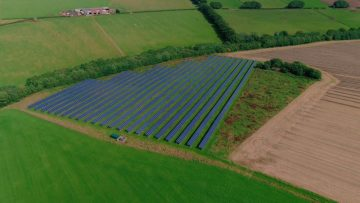 One of Scotland's largest solar farms is on track to produce its highest amount of green energy in a year - Story told by Scottish PR experts