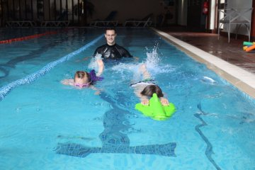 A swimming aid which helps disabled children learn to swim is in the running for a prestigious innovation award - Story told by Care PR experts.