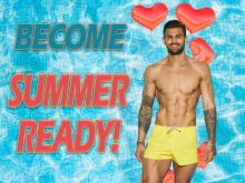 Digital PR montage to accompany PR agency blog post about Love Island