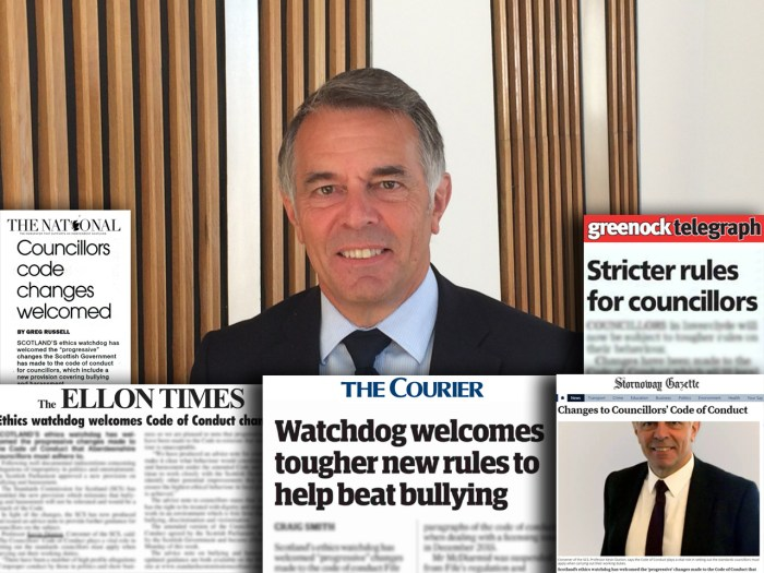Edinburgh PR agency helps Scotland's ethics watchdog share its story across the media