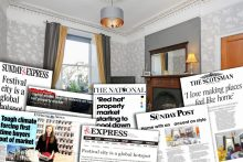 Property PR success over a month for Warners Solicitors and Estate Agents, Edinburgh Scotland