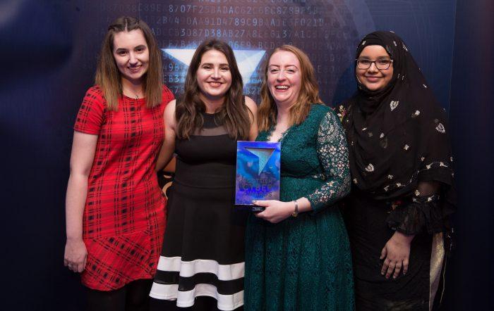 Scottish Cyber Awards Tech PR Toni Scullion Turing Testers