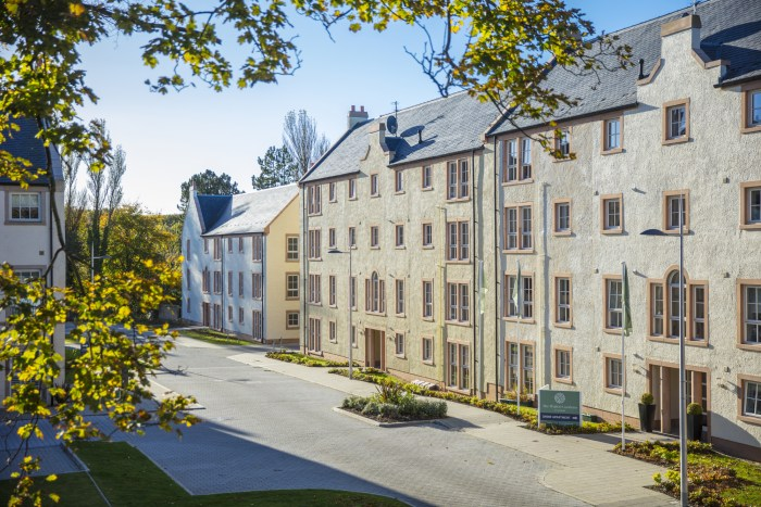 Thanks to the help of Scottish PR, The Walled Garden promotes the news of its final remaining apartment in its first phase.