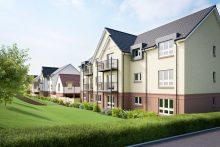 Marine Rise Gullane apartment exterior - property PR