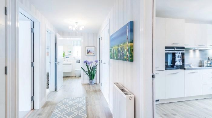 Marine Rise Gullane apartment hallway - property PR