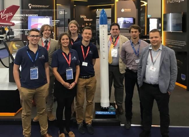 Some of the team at Skyrora, for Tech PR