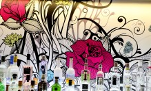 Disctinctive artwork at Hyde Out captured in pub and restaurant PR photos