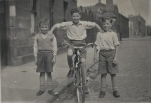 "Photograph of Bield tenant Alex Wilson from ""Remembering the Fifties"" Memory Book 