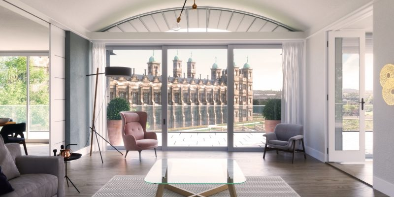 CALA Homes The Crescent Penthouse Edinburgh PR