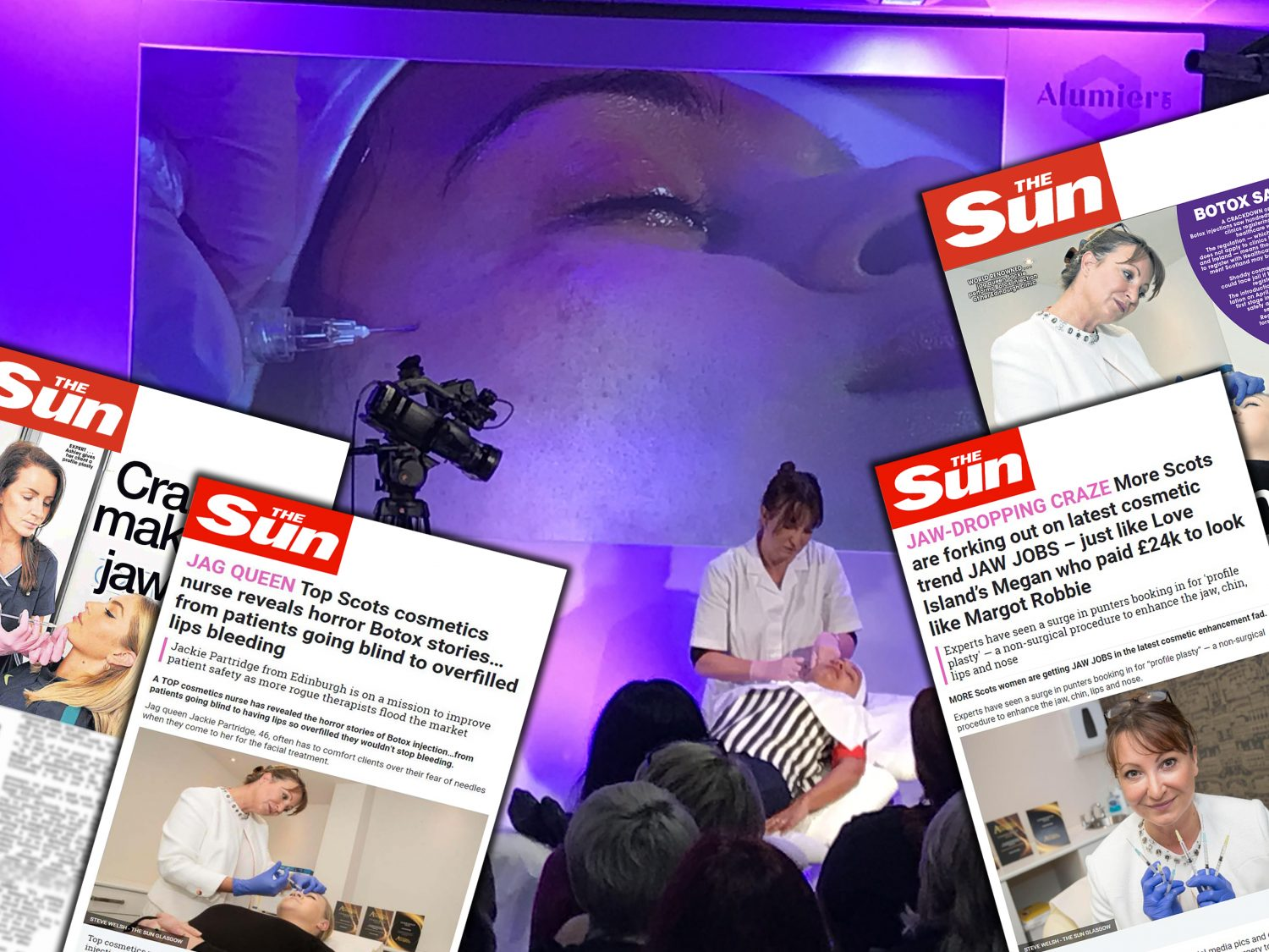 Queen of face injections is best under The Sun : Holyrood PR