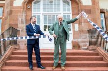 Opening ceremony of Henderson House by property PR experts