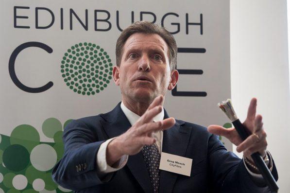 CityFibre CEO Greg Mesch pictured in a tech PR photo for Commsworld