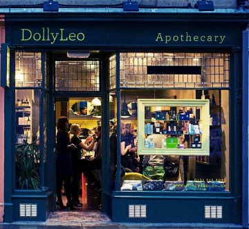 A hair and beauty PR photo of DollyLeo makeup shop