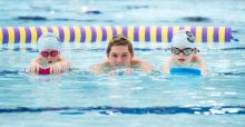 Pre-schoolers learning to swim with Duncan Scott - story by Scottish PR agency
