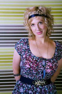 Sadie Jean Sloss, hair and beauty PR photo
