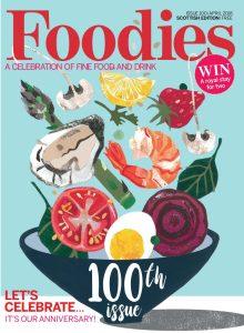 Foodies Magazine 100th Anniversary Cover | Hair & Beauty PR